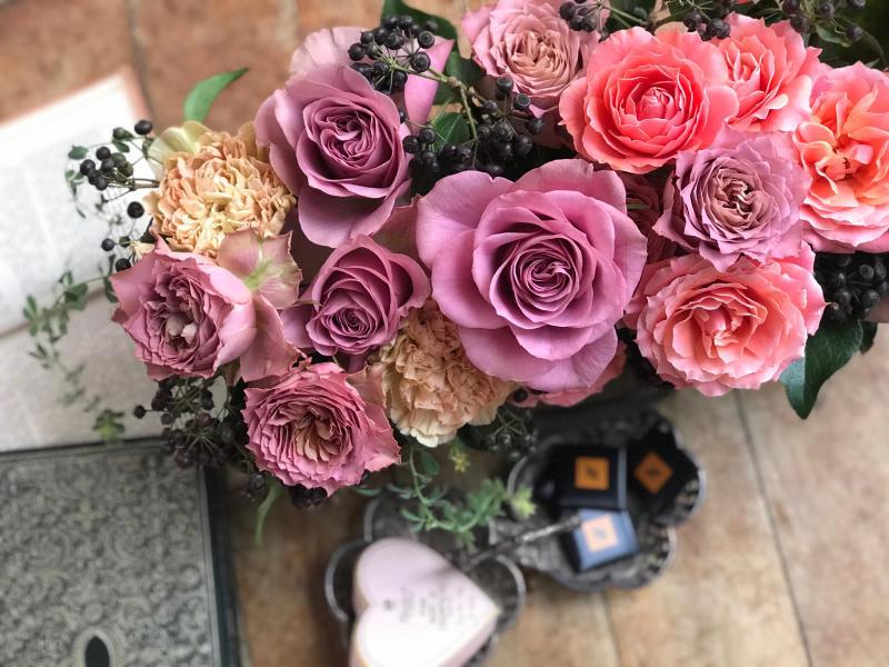 ショコラカラーの薔薇_a0157813_16344441.jpg