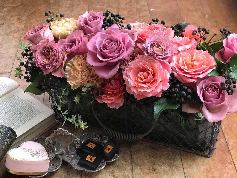 ショコラカラーの薔薇_a0157813_16361860.jpg