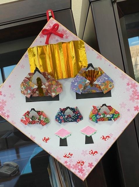 折り紙のお雛様_d0130714_19271947.jpg