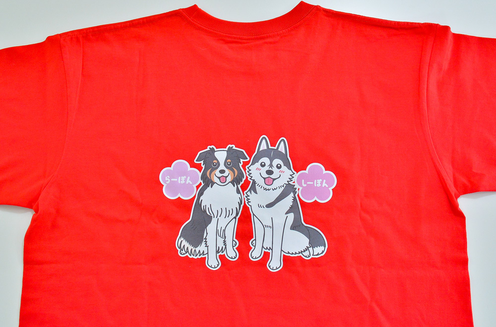 らーぽんちゃん・しーぽんちゃん Tシャツとパーカー_d0102523_19324616.jpg