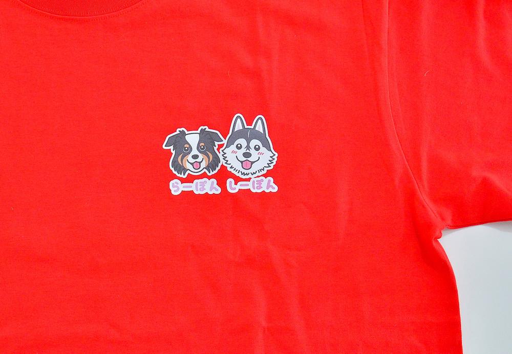 らーぽんちゃん・しーぽんちゃん Tシャツとパーカー_d0102523_19331927.jpg