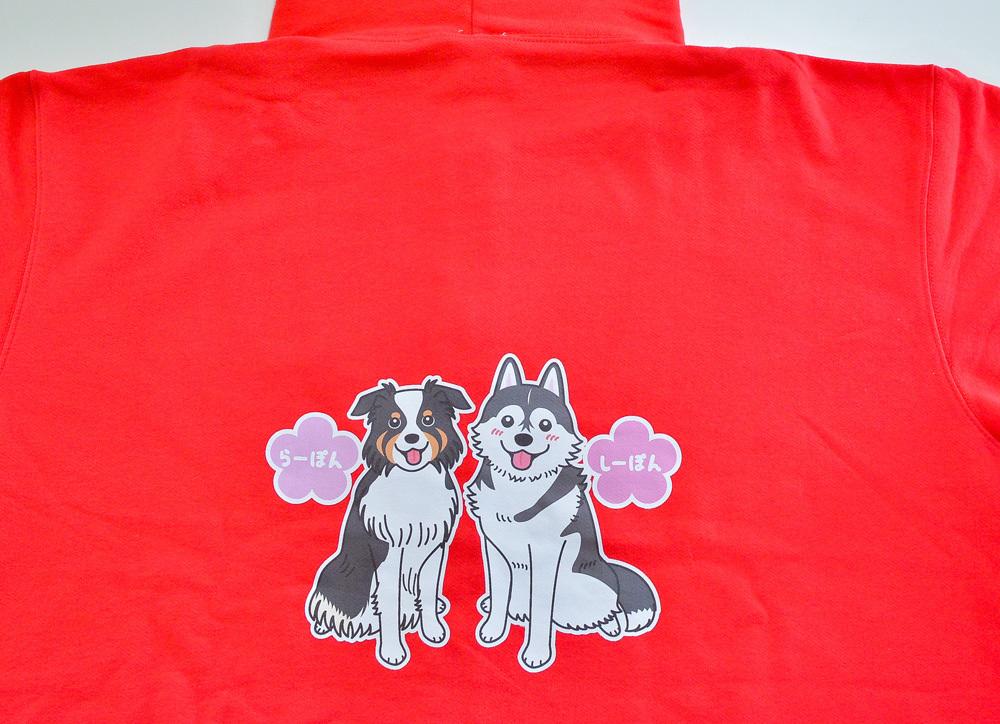 らーぽんちゃん・しーぽんちゃん Tシャツとパーカー_d0102523_19334348.jpg