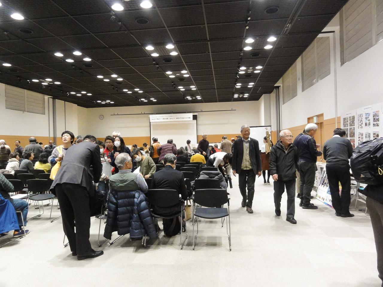 2020年2月9日 臨時(川西市主催「生物多様性ふるさと川西戦略シンポジウム」パネル展示に参加_d0024426_17395693.jpg