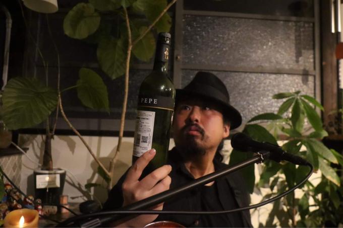 昨日の満月の夜はpepe伊藤 誕生日Live ♪_d0168331_16071023.jpg