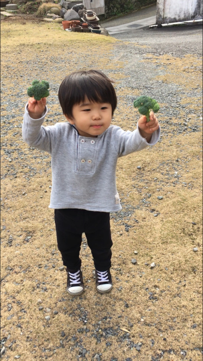 TUTi畑とブロッコリー踊り_d0386342_10081616.jpg