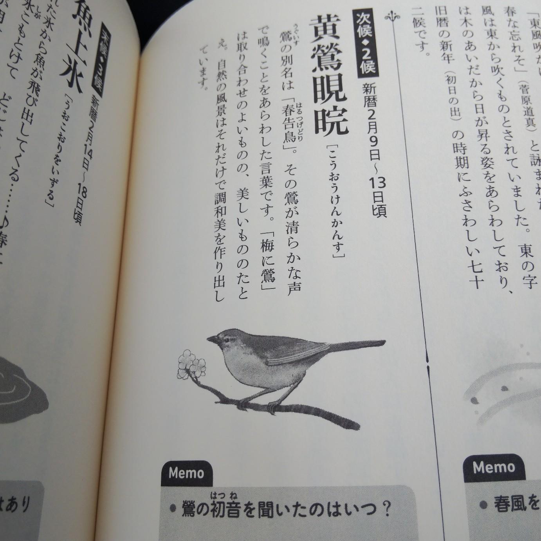 200210 七十二候「黄鶯睍睆(うぐいすなく)」です🌸_f0164842_13375992.jpg