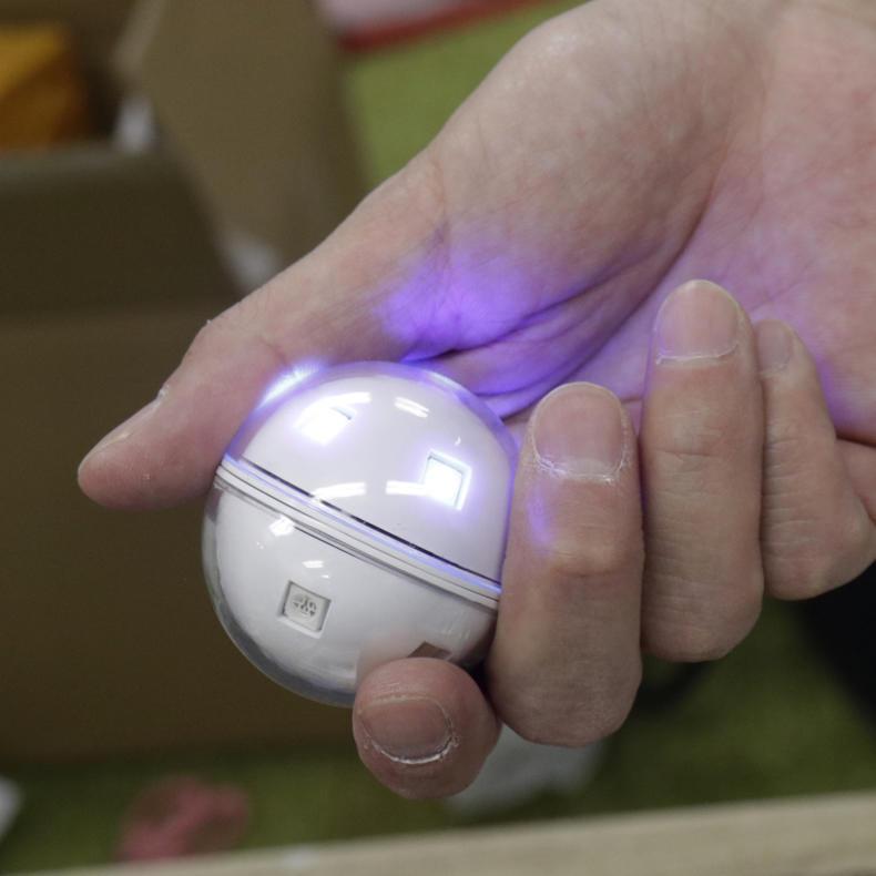 【PR】充電式防水除菌ボールが近未来的で面白い_c0060143_21033324.jpg
