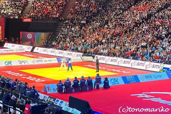 パリで開かれた柔道の世界大会で_c0024345_20594705.jpg
