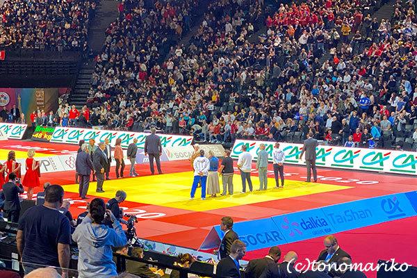 パリで開かれた柔道の世界大会で_c0024345_20594757.jpg