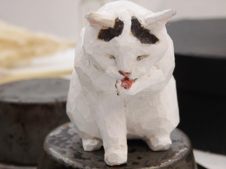 【どうして猫が好きかっていうと…ね。2バンナイリョウジ作品展】終了しました。_e0060555_15244289.jpg