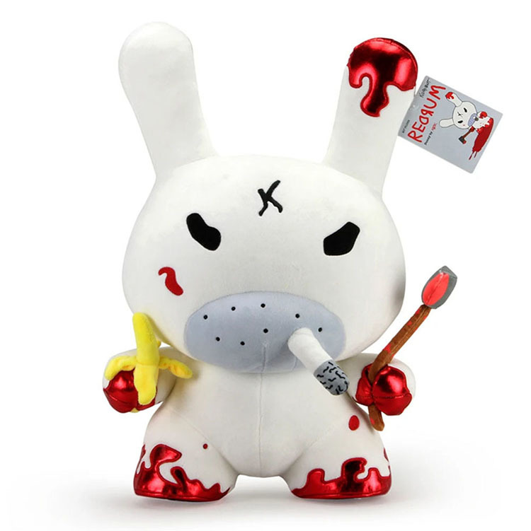 "20"" Plush Red Rum Dunny by Frank Kozik_e0118156_11040412.jpg"