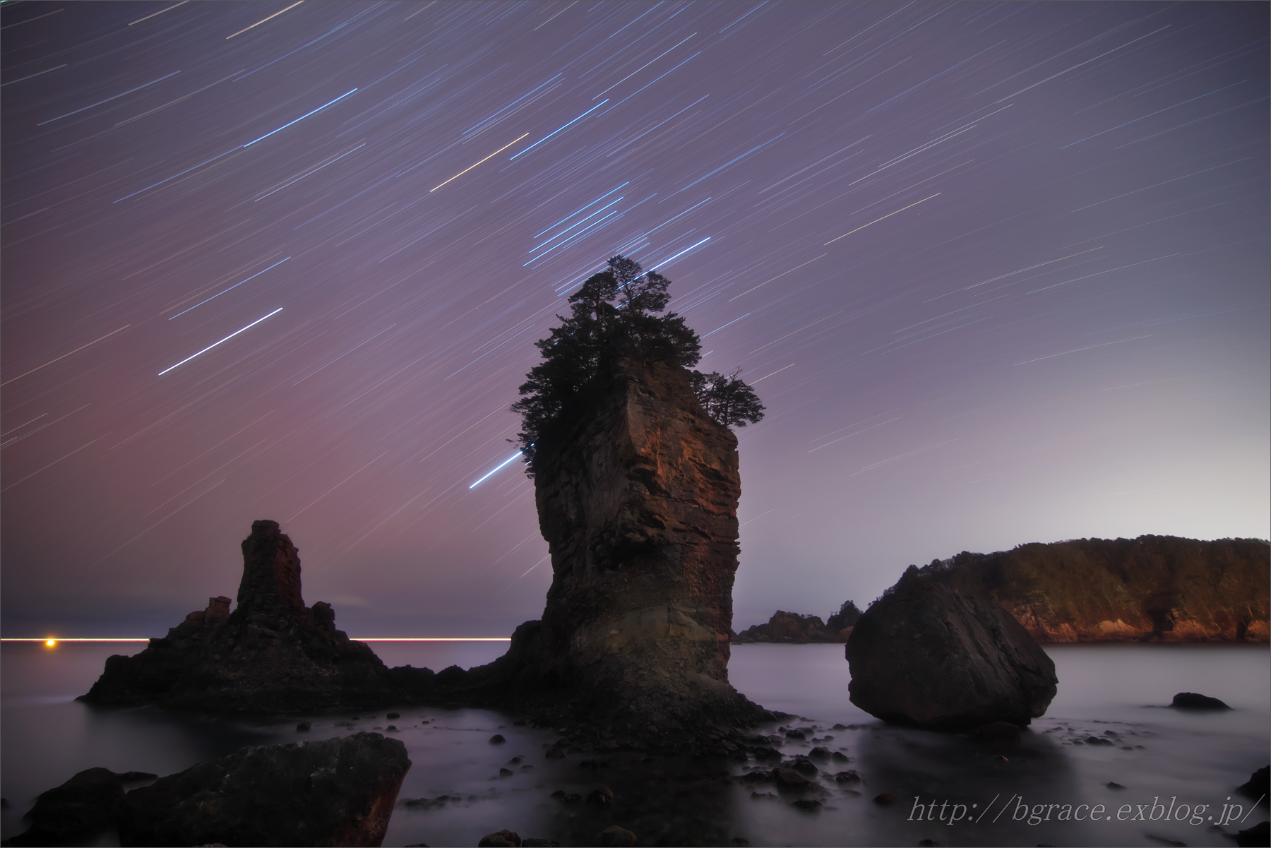 三王岩 と オリオン_b0191074_20475617.jpg