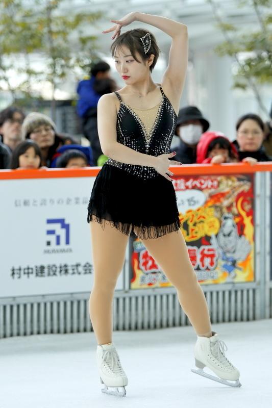 ハピリンク 関西大学アイススケート部スペシャルショー SP 高木選手_c0196076_01024998.jpg