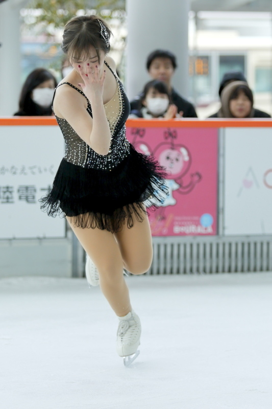 ハピリンク 関西大学アイススケート部スペシャルショー SP 高木選手_c0196076_01063114.jpg