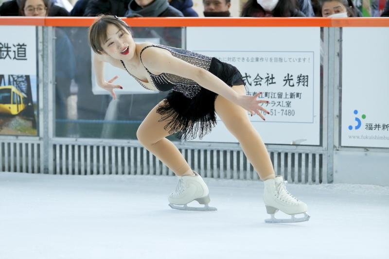 ハピリンク 関西大学アイススケート部スペシャルショー SP 高木選手_c0196076_01100274.jpg
