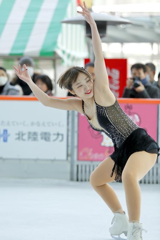 ハピリンク 関西大学アイススケート部スペシャルショー SP 高木選手_c0196076_01100511.jpg