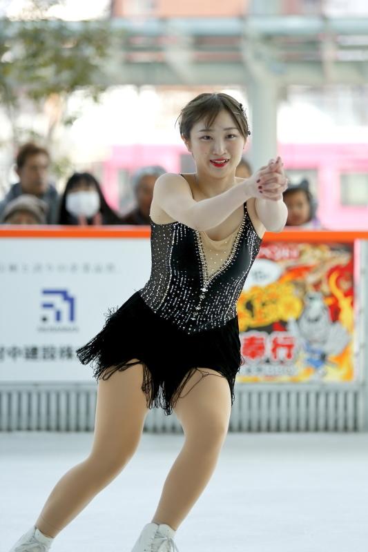 ハピリンク 関西大学アイススケート部スペシャルショー SP 高木選手_c0196076_01100941.jpg