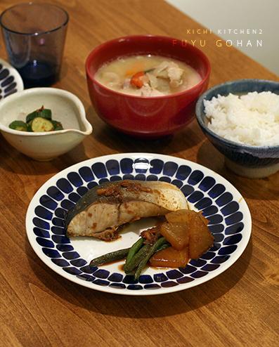 ヤズ大根と酒粕豚汁_e0137277_00512883.jpg