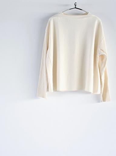 unfil raw silk ribbed-jersey boat neck tee_b0139281_17131334.jpg