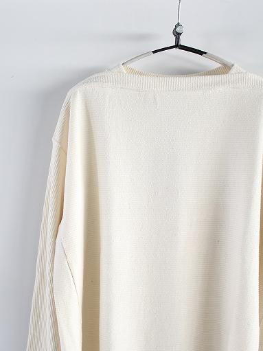 unfil raw silk ribbed-jersey boat neck tee_b0139281_17132467.jpg