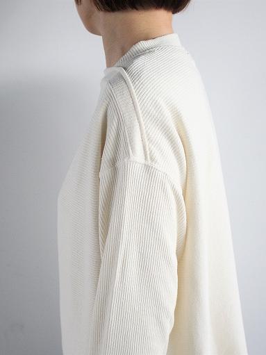 unfil raw silk ribbed-jersey boat neck tee_b0139281_17144641.jpg