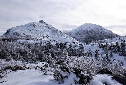 雪山の雪が少ない_e0077899_14574420.jpg