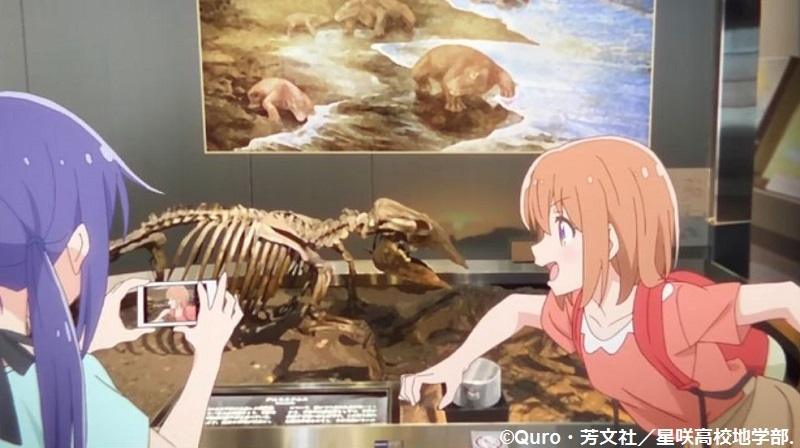 「恋する小惑星」舞台探訪004-1/3 第4話 つくば駅周辺、そして地質標本館へ_e0304702_08025389.jpg