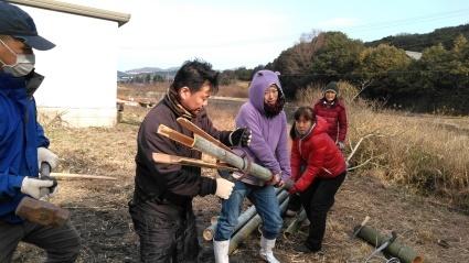 百姓のための、竹のワークショップに参加して_c0280108_16133360.jpg