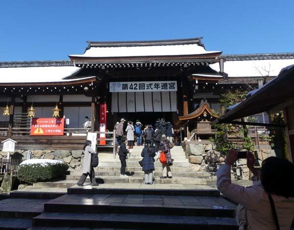 雪の上賀茂神社_e0048413_21004187.jpg