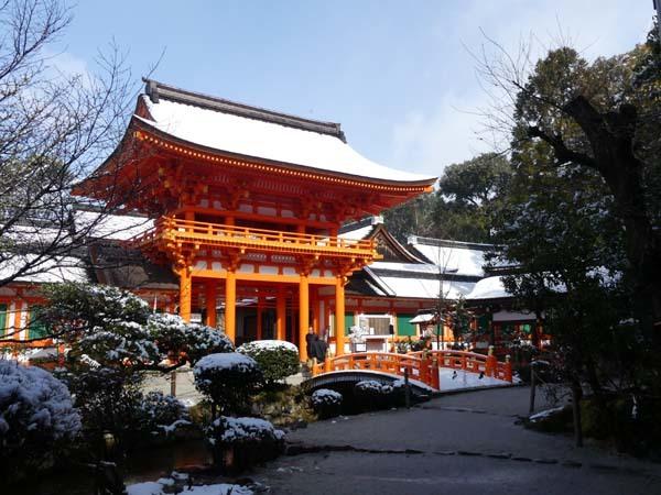 雪の上賀茂神社_e0048413_21004511.jpg