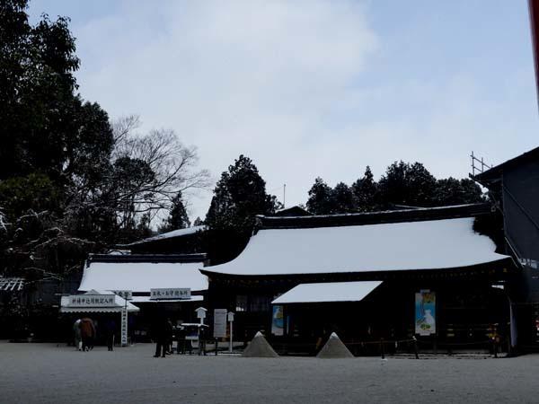 雪の上賀茂神社_e0048413_21005482.jpg