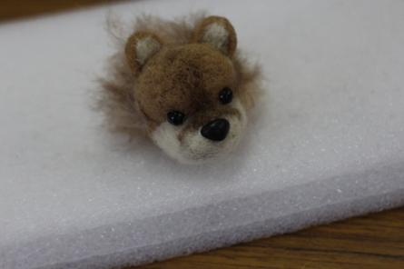 羊毛フェルトポメラニアン(^^)_f0170713_08192997.jpg