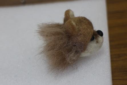 羊毛フェルトポメラニアン(^^)_f0170713_08194078.jpg