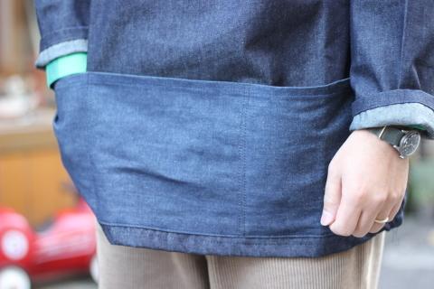 イギリスの本場フィッシャーマンが着用している「NEWLYN SMOCKS」に別注_f0191324_08343574.jpg