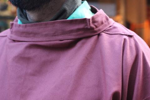 イギリスの本場フィッシャーマンが着用している「NEWLYN SMOCKS」に別注_f0191324_08355487.jpg