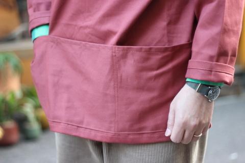 イギリスの本場フィッシャーマンが着用している「NEWLYN SMOCKS」に別注_f0191324_08363698.jpg