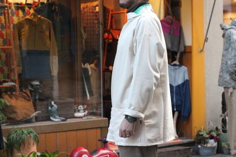 イギリスの本場フィッシャーマンが着用している「NEWLYN SMOCKS」に別注_f0191324_08373105.jpg