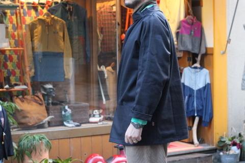 イギリスの本場フィッシャーマンが着用している「NEWLYN SMOCKS」に別注_f0191324_08390339.jpg