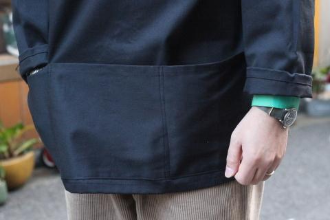 イギリスの本場フィッシャーマンが着用している「NEWLYN SMOCKS」に別注_f0191324_08393730.jpg