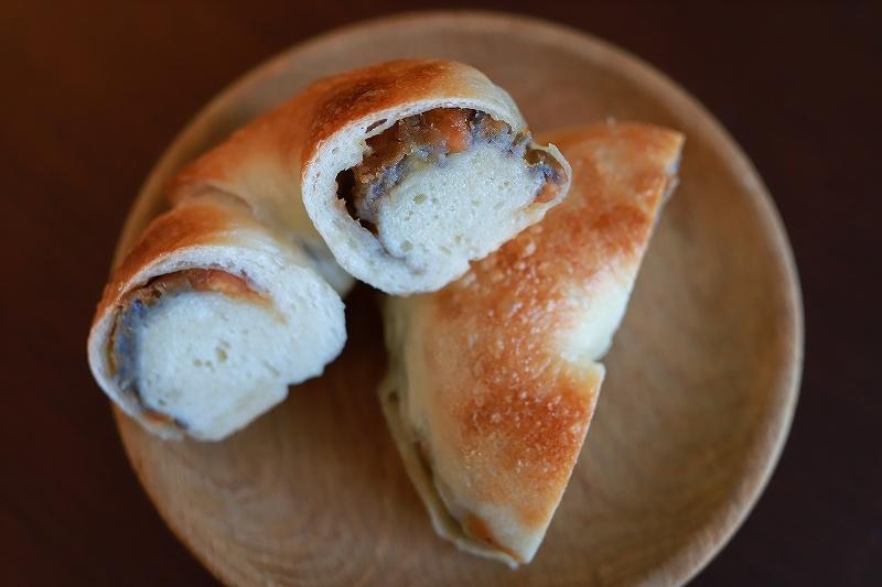 ベーグルと鶏肉とブロッコリーの味噌炒め定食(?!)_f0348831_15002107.jpg