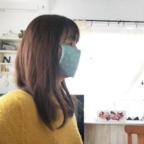 『手作りマスク』耳が痛くなりにくいマスクゴムの代用になる布紐の作り方(縫わずに作る追記有)_f0023333_11401156.jpg