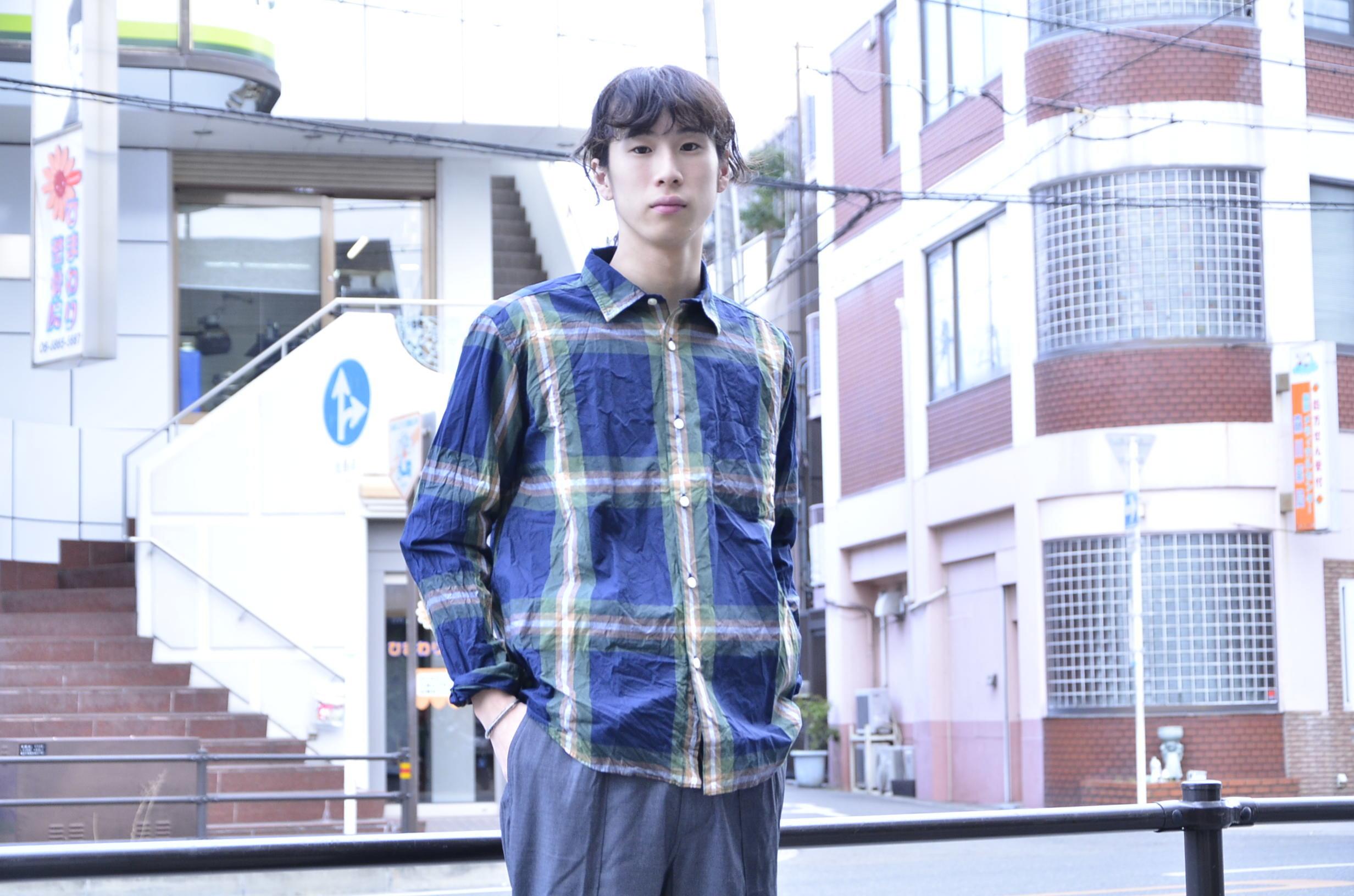 """゛Spinner Bait """" << OGURI SHIRTS(CHECK) >>Style~KODAI_c0167336_17082099.jpg"""
