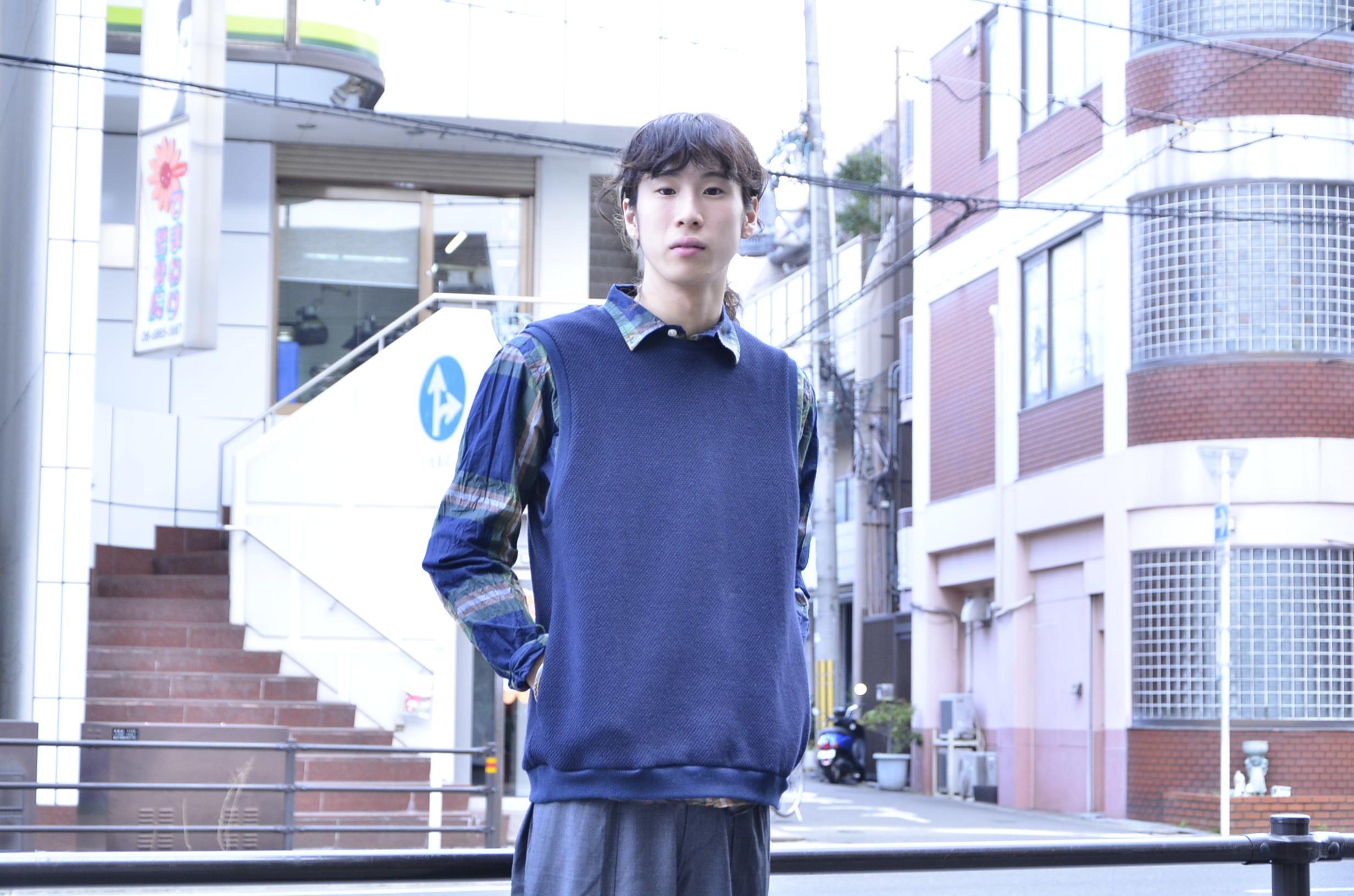"""゛Spinner Bait """" << OGURI SHIRTS(CHECK) >>Style~KODAI_c0167336_17082113.jpg"""