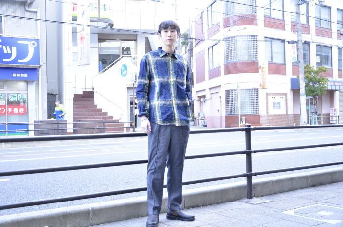 """゛Spinner Bait """" << OGURI SHIRTS(CHECK) >>Style~KODAI_c0167336_17082274.jpg"""