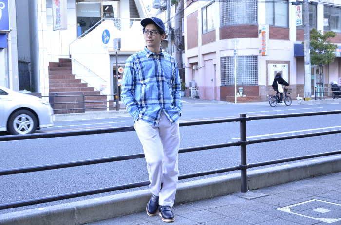 """゛Spinner Bait """" << OGURI SHIRTS(CHECK) >>Style~TKB_c0167336_17420526.jpg"""