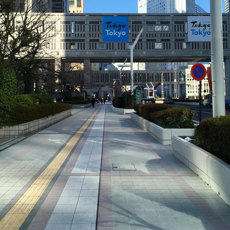 東京マラソンのスタート地点とコースの下見に_c0060143_16572773.jpg