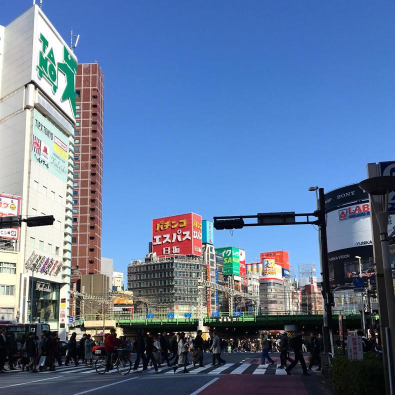 東京マラソンのスタート地点とコースの下見に_c0060143_17010555.jpg