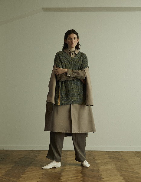 YOKE SPRING SUMMER 2020 COLLECTION JOSEF ALBERS look Ⅲ_e0171446_133228.jpg