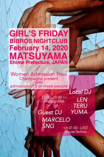 2020.02.14.FRIDAY|- GIRL'S FRIDAY - @Club BIBROS_f0148146_22583890.jpeg