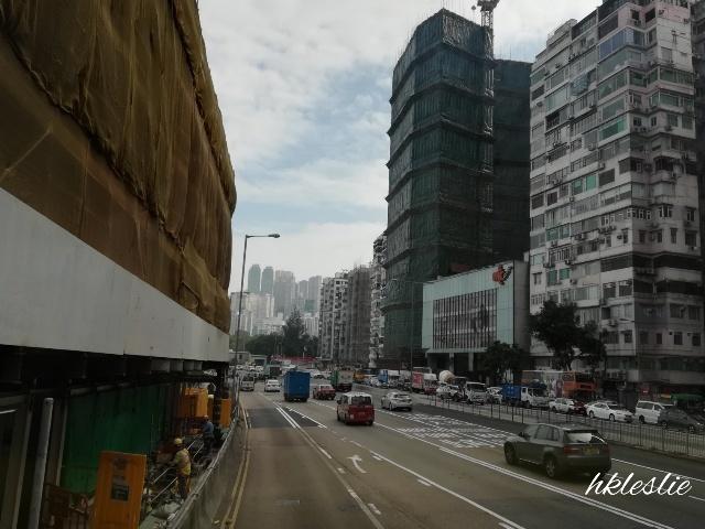 過海隧道巴士110號@尖東站→粵華酒店_b0248150_04264315.jpg